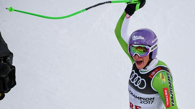 'Absolutely brilliant' - Stuhec with gold-medal run