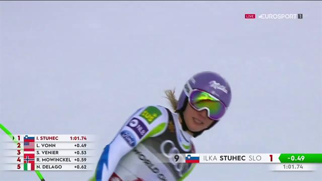 Ilka Stuhec campionessa del mondo di discesa: conferma il titolo del 2017