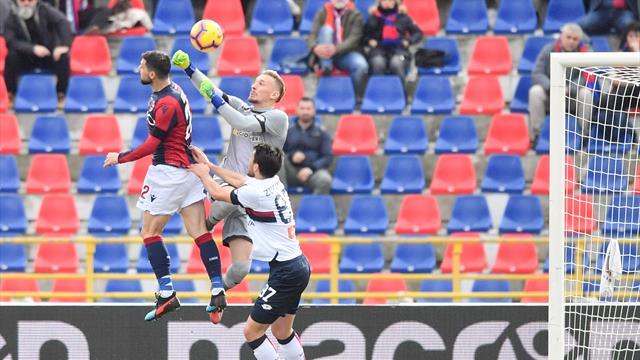 Lerager risponde a Destro: Bologna e Genoa non si fanno male, 1-1 al Dall'Ara