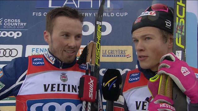 Iversen and Klaebo delighted to win after previous struggles
