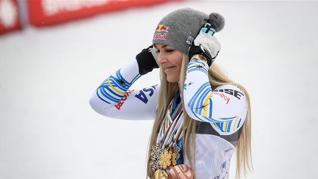 'You're the best' - A tribute to 'inspirational' Vonn