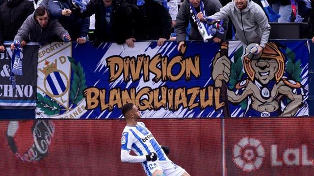 3-0. El Leganés cabalga hacia Europa y huye del descenso a lomos de En-Nesyri