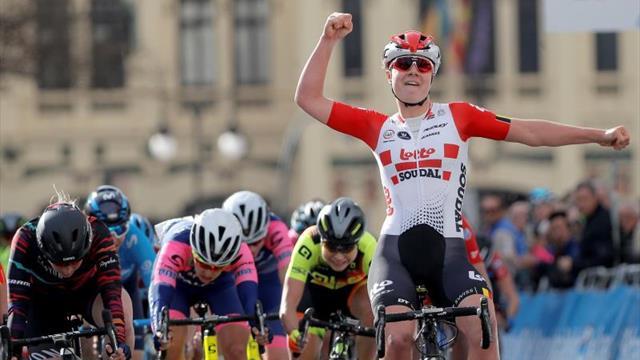 La belga Kopecky inscribe su nombre como primera ganadora de la Vuelta CV