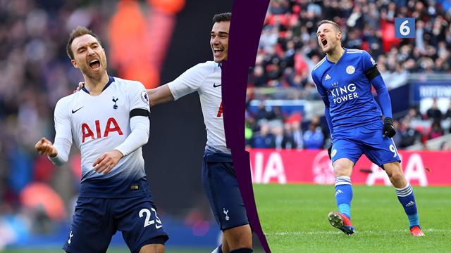 Highlights: Tottenham og Eriksen straffede Leicester i Tottenham-sejr