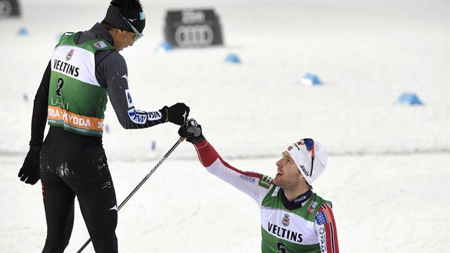 Graabak vince la volata al fotofinish con Watabe e e conquista la Gundersen di Lahti