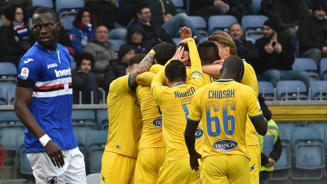 Sampdoria ancora battuta: il Frosinone espugna Marassi grazie al gol di Ciofani