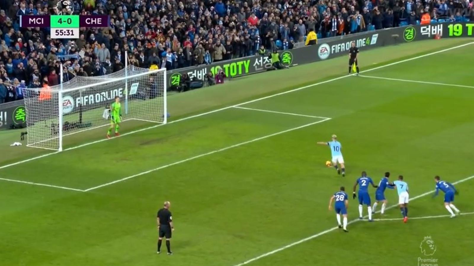 Трешка Агуэро и еще 3 гола, обеспечивших самое большое унижение «Челси» в истории АПЛ