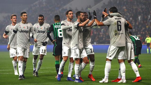 Sassuolo-Juventus in Diretta tv e Live-Streaming