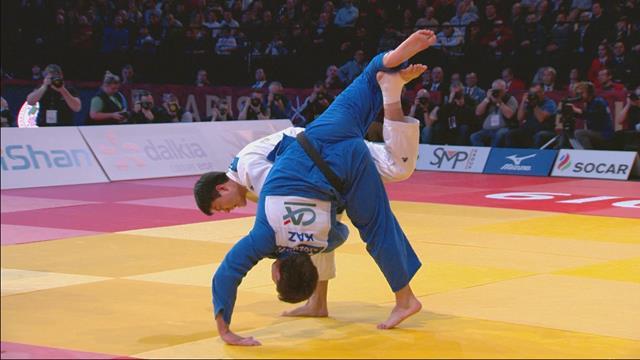 Grand Slam de París: El coreano Gwak toca la gloria en la modalidad de -90 kg
