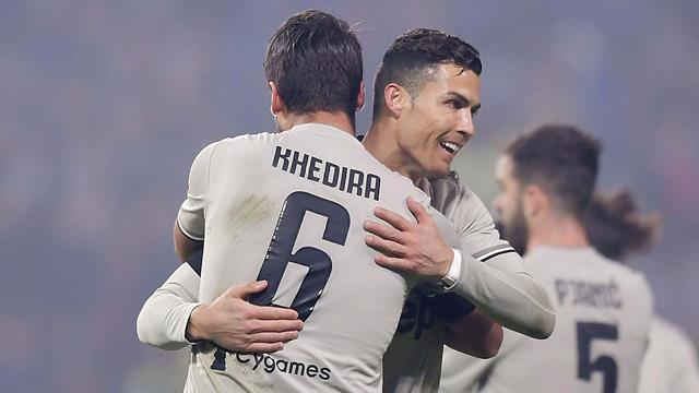 Khedira-Ronaldo-Can: la Juventus riparte dal Mapei Stadium, 3-0 al Sassuolo