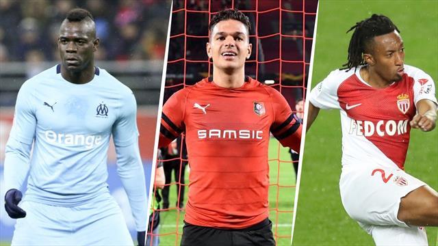 Balotelli, Gelson Martins, Ben Arfa ? Votez pour le meilleur joueur de la 24e journée