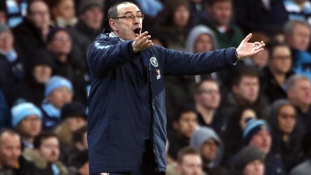 Sarri: It's right people should question me, my job is always at risk