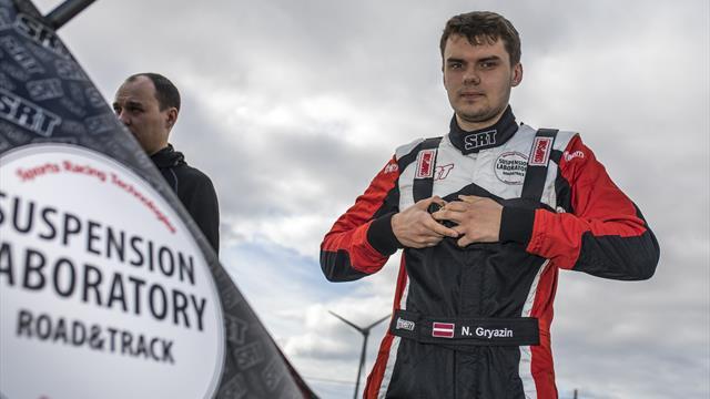 ERC Junior champion Gryazin revs up for world debut with Latvia podium