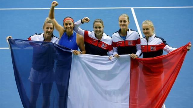 Rumanía da la sorpresa y acompaña a Bielorrusia y Francia en semifinales