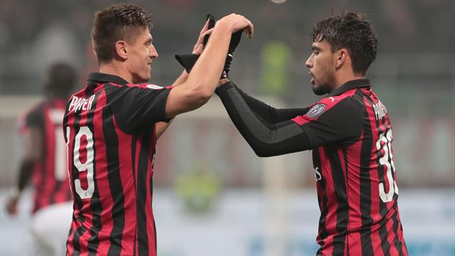 Piatek and Paqueta strike as Milan beat Cagliari
