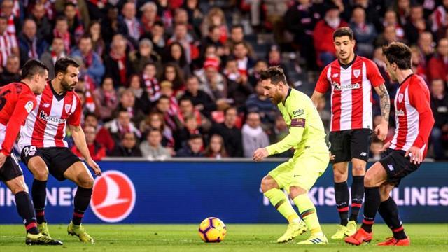 El Athletic impide al Barça abrir más hueco