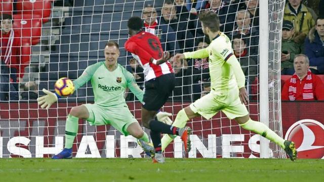 0-0. Ter Stegen impide la derrota del Barcelona en San Mamés