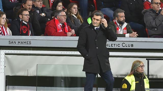 """Valverde: """"Seguimos primeros y seguiremos la semana que viene; esto es largo"""""""