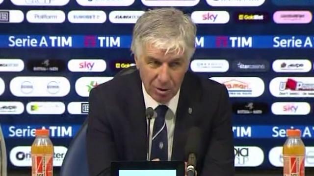 """Gasperini: """"Più semplice centrare l'Europa con la Coppa Italia che attraverso il campionato"""""""