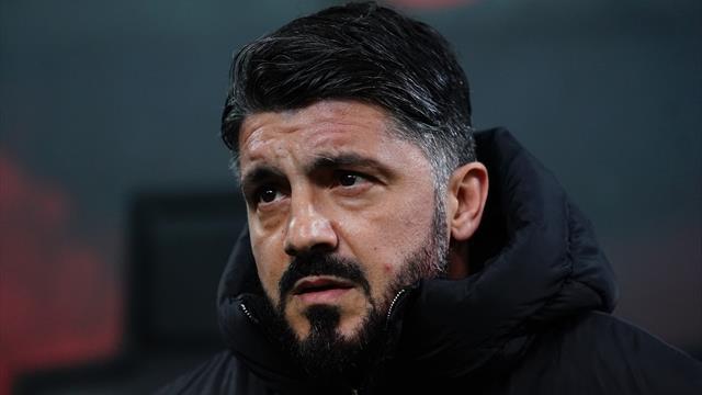 """Gattuso: """"Calhanoglu? È un fesso, poteva fare gol. Paquetà ci dà una grandissima mano"""""""