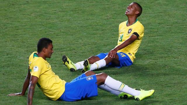 1-0: Brasil gana a Argentina pero le faltaron goles para ir al Mundial