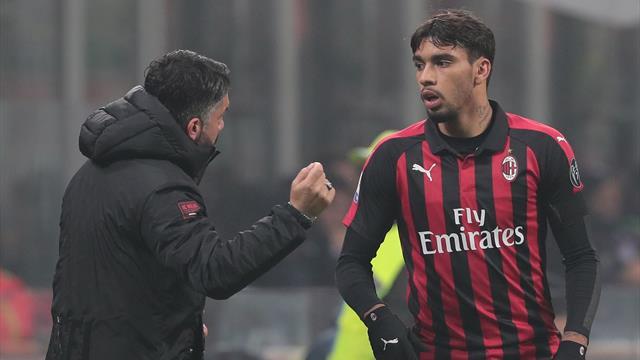"""Gattuso: """"Paquetà è un giocatore incredibile"""""""