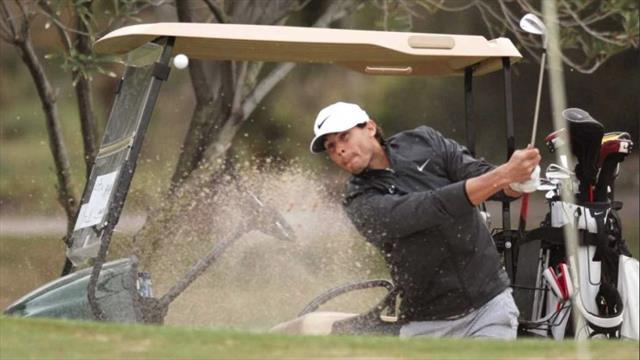 Nadal, de rey del tenis a subcampeón de golf
