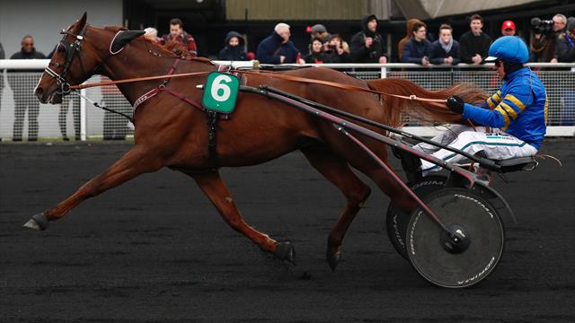 Hipódromo de Vincennes: Readly Express se lleva el Grand Prix de France