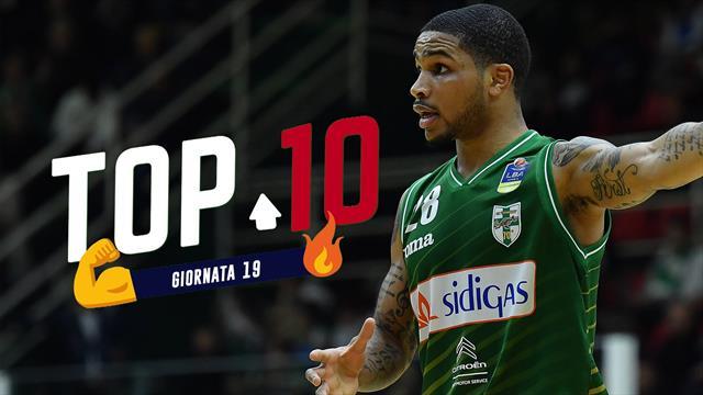 Top 10: le migliori giocate della 19a giornata di Serie A