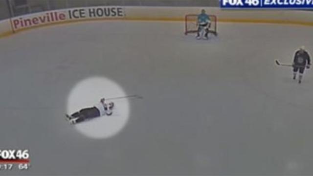 Хоккеист-врач спас соперника от сердечного приступа на матче любителей
