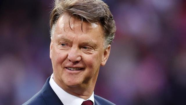 """Van Gaal: """"De Jong tiene un talento especial"""""""