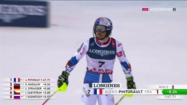 Alexis Pinturault ce la fa nella sua gara: campione del mondo nella combinata alpina