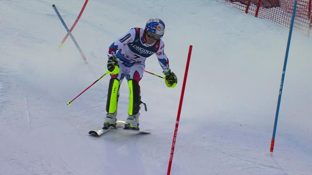 Watch Pinturault's winning run at the World Championships