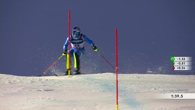 Paris loses big time on slalom run to miss out on podium finish