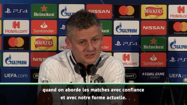 """8es - Solskjaer : """"United est capable de gagner contre n'importe qui"""""""