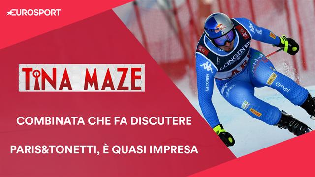 """Tina Maze: """"Combinata troppo a favore degli slalomisti, rimpianti per Tonetti e Paris"""""""