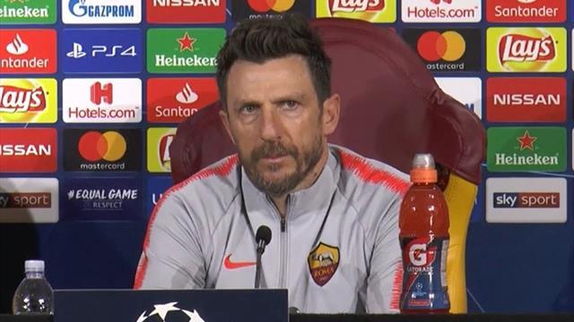 """Di Francesco: """"Obiettivo? Non prendere gol dal Porto, ma senza snaturare la nostra identità"""""""