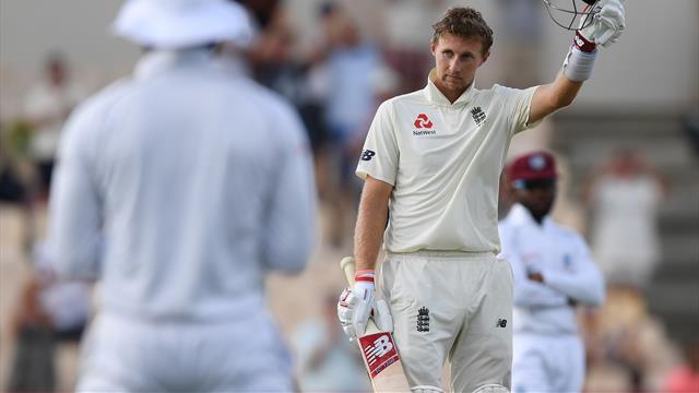 Root century helps England build huge lead against West Indies