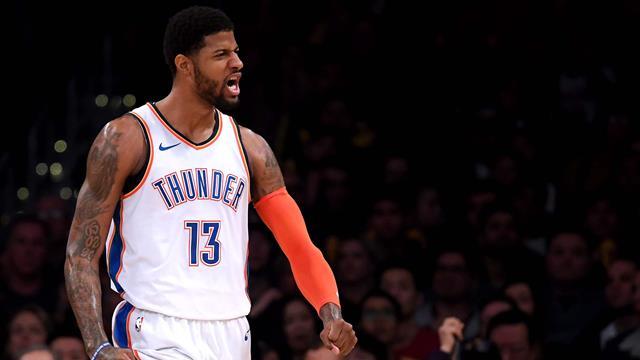 George en mode MVP, Westbrook plus fort que Chamberlain : OKC a encore fait parler la foudre