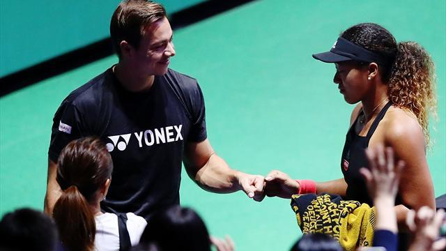 😱🎾 Sorpresón en el mundo del tenis: La reina Osaka prescinde del entrenador que la guió al trono
