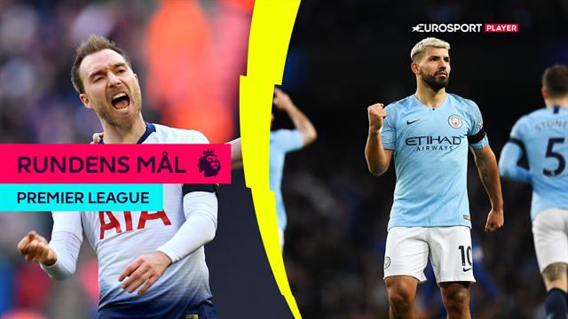 Citys ydmygelse af Chelsea, Eriksens kolde højre fod og endnu en United-sejr: Se alle rundens PL-mål