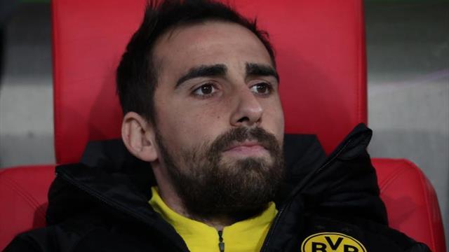 Paco Alcácer, baja en el Dortmund por inflamación en el hombro