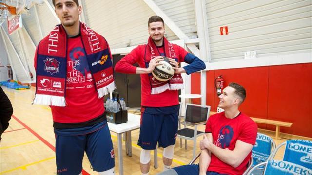 Barra libre de baloncesto en Madrid