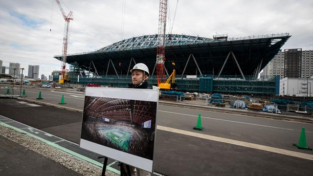 Tokyo 2020 venues on track for completion, say organisers