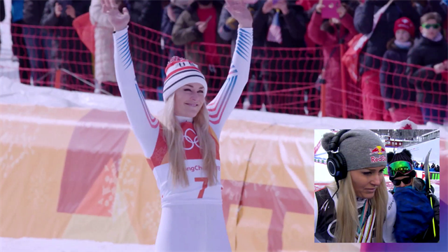 'I'll miss them so much!' - Emotional Lindsey Vonn reacts to her tribute video