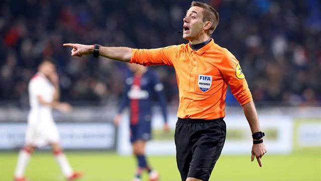 Vincic, Sidiropoulos, Turpin y Hategan árbitros para los españoles