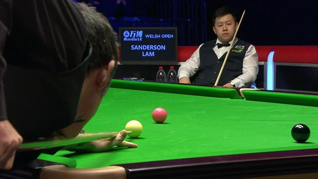 'What a shot!' - O'Sullivan plays superb double to set up century