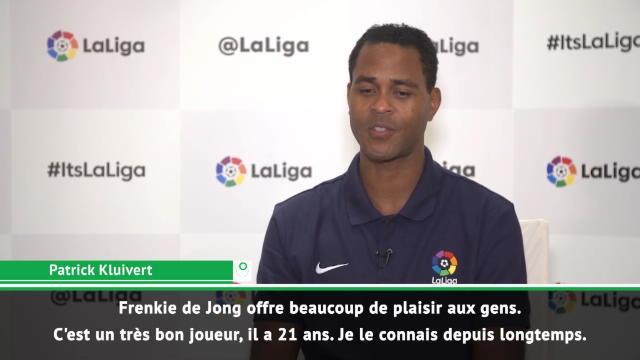 Transferts - Kluivert : ''Frenkie de Jong, un joueur parfait pour le Barça''