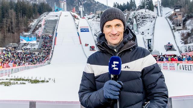 Martin Schmitt bleibt Eurosport-Experte bis 2022