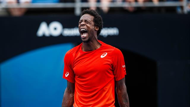 Engagement, intensité, solidité : Monfils a haussé le ton contre Goffin